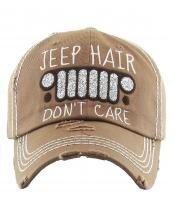 KBV1176(ESP)-wholesale-cap-jeep-hair-dont-care-logo-glitter-embroidered-baseball-vintage-torn-stitch-cotton(0).jpg
