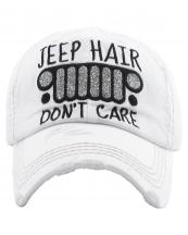 KBV1176(WT)-W93-wholesale-cap-jeep-hair-dont-care-logo-glitter-embroidered-baseball-vintage-torn-stitch-cotton(0).jpg