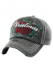 KBV1186(BK)-wholesale-cap-baseball-merry-christmas-yall-embroidered-lights-holly-berry-leaves-santa-claus-hat(0).jpg