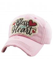 KBV1198(PK)-wholesale-cap-bless-your-heart-embroidered-baseball-vintage-torn-stitch-cotton-hook-loop-cursive(0).jpg