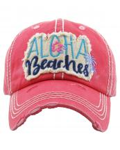 KBV1199(HPK)-wholesale-cap-aloha-beaches-floral-palm-tree-multi-embroidered-baseball-vintage-torn-stitch-cotton(0).jpg