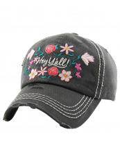 KBV1201(BK)-wholesale-cap-hey-yall-floral-multi-color-embroidered-baseball-vintage-torn-stitch-cotton-hook-loop(0).jpg
