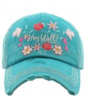 KBV1201(TQ)-wholesale-cap-hey-yall-floral-multi-color-embroidered-baseball-vintage-torn-stitch-cotton-hook-loop(0).jpg