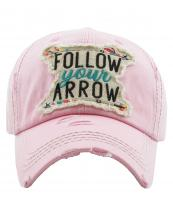 KBV1202(PK)-wholesale-cap-follow-your-arrow-feather-multi-color-embroidered-baseball-vintage-torn-stitch-cotton(0).jpg