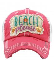 KBV1204(HPK)-wholesale-cap-beach-please-gold-metallic-starfish-conch-scallop-trucker-vintage-embroidered-cotton(0).jpg