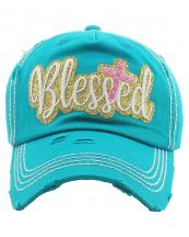 KBV1217(TQ)-wholesale-cap-blessed-cross-glitter-embroidered-baseball-vintage-tone-cotton-hook-loop-closure(0).jpg