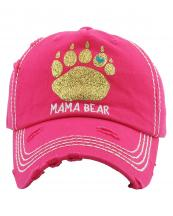 KBV1221(HPK)-wholesale-cap-mama-bear-paw-print-glitter-heart-embroidered-baseball-vintage-torn-stitch-cotton-gold(0).jpg