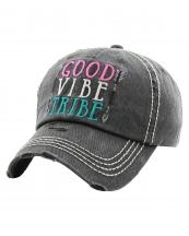 KBV1222(BK)-wholesale-cap-good-vibe-tribe-arrow-embroidered-vintage-torn-stitch-baseball-cotton-multicolor(0).jpg