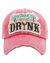 KBV1247(HPK)-wholesale-cap-you-look-like-need-drink-wine-glass-mbroidered-baseball-vintage-torn-cotton-stitch(0).jpg
