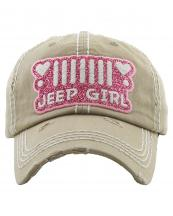 KBV1255(KHA)-wholesale-cap-jeep-girl-gitter-logo-heart-embroidered-headlight-vintage-torn-stitch-baseball-cotton-(0).jpg