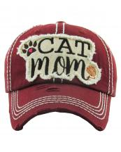 KBV1260(BUR)-wholesale-cap-cat-mom-paw-heart-thread-embroidered-baseball-vintage-torn-cotton-stitch-adjustable(0).jpg