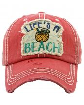 KBV1272(HPK)-wholesale-cap-life-beach-straw-cocktail-umbrella-pineapple-embroidered-baseball-vintage-torn-cotton(0).jpg