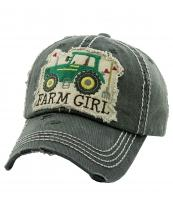 KBV1280(BK)-wholesale-cap-farm-girl-tractor-fork-heart-multicolor-embroidery-baseball-vintage-torn-stitch-cotton(0).jpg