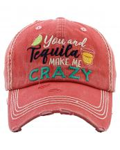 KBV1282(HPK)-wholesale-cap-you-tequila-crazy-lime-shot-multicolor-embroidery-baseball-vintage-torn-stitch-cotton(0).jpg
