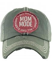 KBV1297(MOS)-wholesale-baseball-cap-mom-mode-embroidered-vintage-torn-stitch-cotton-velcro-size-adjustable(0).jpg