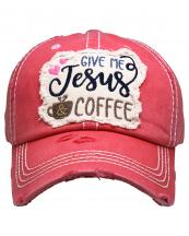 KBV1357(HPK)-wholesale-baseball-cap-give-me-jesus-coffee-embroidered-vintage-torn-stitch-cotton-velcro-adjustable(0).jpg