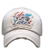 KBV1370(STN)-wholesale-baseball-cap-life-is-better-at-the-lake-embroidered-vintage-cotton-velcro-adjustable(0).jpg