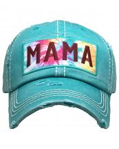 KBV1375(TQ)-wholesale-baseball-cap-mama-tie-dye-embroidered-vintage-cotton-velcro-adjustable(0).jpg