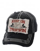KBVT200(BK)-wholesale-baseball-cap-keep-on-trucking-sexy-women-truck-vintage-torn-stitched-embroidered-cotton(0).jpg