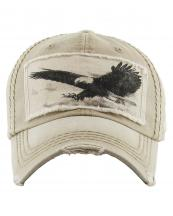 KBVT573(KHA)-W94-wholesale-cap-american-bald-eagle-01-embroidered-vintage-torn-stitch-cotton-animal-wings-spread(0).jpg