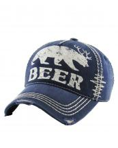 KBVT588(NV)-W92-wholesale-baseball-cap-beer-bear-deer-antler-printed-vintage-torn-stitch-cotton-size-adjustable(0).jpg
