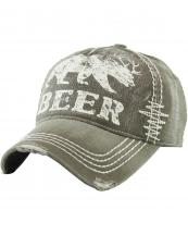 KBVT588(OV)-wholesale-baseball-cap-beer-bear-deer-antler-printed-vintage-torn-stitch-cotton-size-adjustable(0).jpg