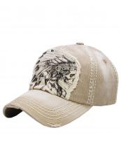 KBVT597(KHA)-W06-wholesale-baseball-cap-skull-indian-feather-headdress-vintage-torn-stitched-cotton-(0).jpg