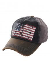 KBVT630(BKDGY)-wholesale-baseball-cap-american-flag-usa-stars-striped-crumpled-printed-two-tone-leatherette-vintage(0).jpg