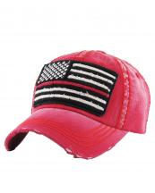KBVT690(RD)-wholesale-cap-american-flag-tactical-operator-usa-stars-stripes-torn-denim-vintage-stitch-cotton(0).jpg
