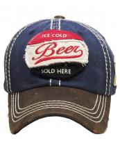 KBVT710(NV)-W99-wholesale-cap-baseball-beer-ice-cold-sold-here-embroidered-leatherette-brim-vintage-torn-glass-fill(0).jpg