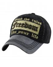 KBVT730(BK)-wholesale-cap-baseball-freedom-break-rule-live-life-lurex-metallic-embroidered-leatherette-brim(0).jpg