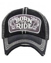 KBVT731(BK)-wholesale-cap-born-to-ride-wings-motorcycle-handle-bar-emboss-embroidery-baseball-vintage-cotton(0).jpg