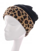 KBW7022(BK)-wholesale-beanie-leopard-pattern-knitted-solid-color-stretch-one-size-acrylic-animal-woven-fold-up(0).jpg
