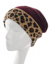 KBW7022(BUR)-wholesale-beanie-leopard-pattern-knitted-solid-color-stretch-one-size-acrylic-animal-woven-fold-up(0).jpg