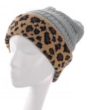 KBW7022(LGY)-wholesale-beanie-leopard-pattern-knitted-solid-color-stretch-one-size-acrylic-animal-woven-fold-up(0).jpg