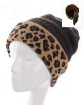 KBW7023H(BR)-wholesale-beanie-leopard-ponytail-animal-pattern-knitted-fold-up-stretch-one-size-acrylic-messy-bun-(0).jpg