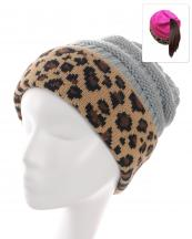 KBW7023H(LGY)-wholesale-beanie-leopard-ponytail-animal-pattern-knitted-fold-up-stretch-one-size-acrylic-messy-bun-(0).jpg