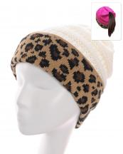 KBW7023H(WT)-wholesale-beanie-leopard-ponytail-animal-pattern-knitted-fold-up-stretch-one-size-acrylic-messy-bun-(0).jpg
