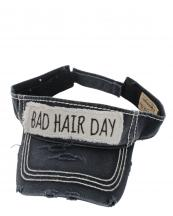 KER127(BK)-wholesale-sun-visor-washed-vintage-bad-hair-day-embroidered-velcro-cotton-torn-stitched-size-adjust(0).jpg