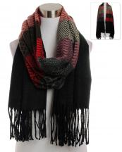 KK304(BK)-wholesale-scarf-wrap-shawl-long-geometric-pattern-multi-color-knitted-fringe-various-shape-chevron-(0).jpg