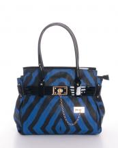 L0018(BL)-wholesale-handbag-gold-metal-padlock-chain-faux-leather-zebra-patent-leatherette-(0).jpg
