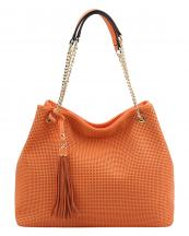 L0043(OR)-wholesale-handbag-leatherette-tassel-punched-dots-solid-color-gold-tone-chain-adjustable-handle(0).jpg