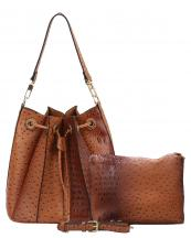 L0131(BR)-wholesale-handbag-pouch-bag-set-2pcs-alligator-ostrich-pattern-leatherette-animal-vegan-leather-hobo(0).jpg