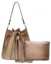 L0131(TP)-wholesale-handbag-pouch-bag-set-2pcs-alligator-ostrich-pattern-leatherette-animal-vegan-leather-hobo(0).jpg