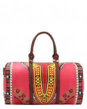 L0164(FU)-wholesale-duffel-bag-multi-color-ethnic-tribal-pattern-vegan-leather-travel-gym-shoulder-strap-belt(0).jpg