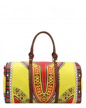 L0164(YE)-wholesale-duffel-bag-multi-color-ethnic-tribal-pattern-vegan-leather-travel-gym-shoulder-strap-belt(0).jpg
