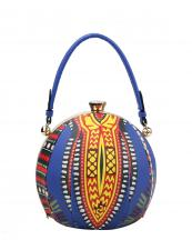 L0181(BL)-wholesale-handbag-dashiki-ethnic-pattern-sphere-round-ball-shaped-multicolor-rhinestone-gold-frame(0).jpg