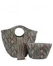 L0221(BZ)-(SET-2PCS)-wholesale-handbag-pouch-bag-fringe-snake-animal-pattern-vegan-leatherette-gold-metal-ringe-handle(0).jpg