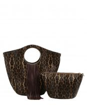 L0222(CF)-(SET-2PCS)-wholesale-handbag-pouch-bag-fringe-leopard-animal-pattern-vegan-leatherette-gold-metal-ringe-handle(0).jpg