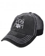 LCAPM256(BK)-wholesale-cap-mesh-dog-mom-paw-embroidered-baseball-polyester-cotton-one-size-trucker-vintage-torn(0).jpg